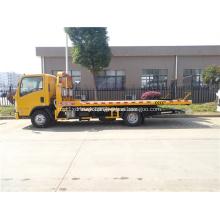 ISUZU 5T tow truck under lift wrecker truck