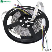 Precio de fábrica DC12V / 24V 5050 SMD rgbwww CCT 60LED / M cuttable luz de tira llevada barata