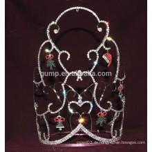Weihnachts-tiara mit baumeln
