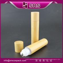 20ml alta calidad 100% ninguÌ n rodillo de la filtración en la botella, botella roll-on poner crema shincare de bambú