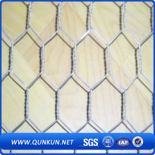 Hot Dipped galvanizado Hexagonal Wire Mesh / Poultry Mesh