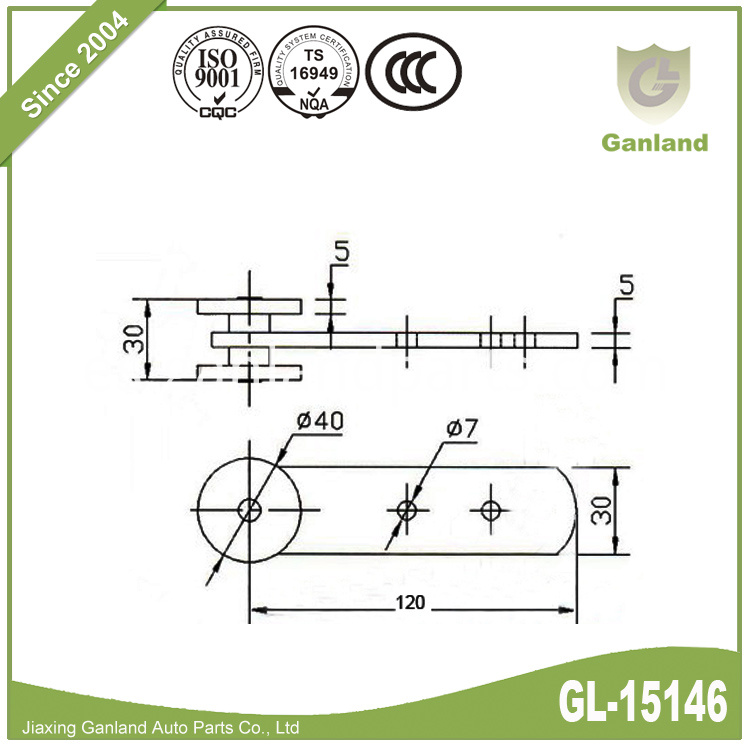 curtain roller GL-15146-5