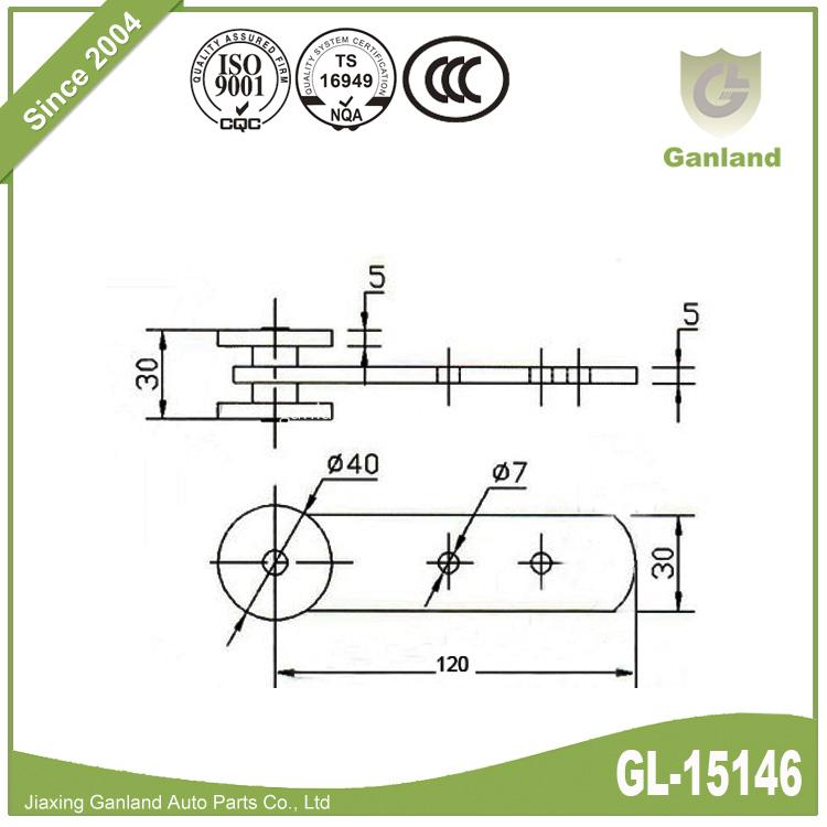 curtain roller GL-15146-5