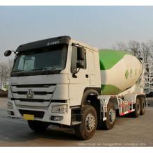Camión mezclador de concreto Sinotruk HOWO 8X4 16 metros cúbicos