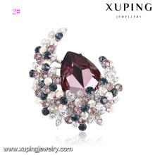 00060 Piercing-Brosche-Pins für Damen edle Kristalle von Swarovski, Luxus-Schmuckzubehör in verschiedenen Größen