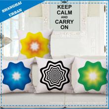 Cojín de almohada de lino de poliéster de estilo simple