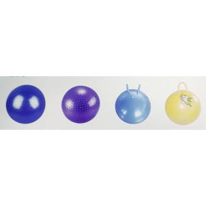 The yoga fitness ball