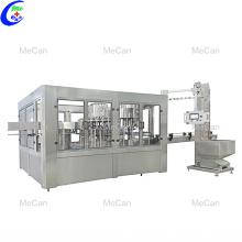 Máquina automática de llenado de agua rotativa de PET