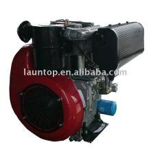 Motor diesel de dos cilindros