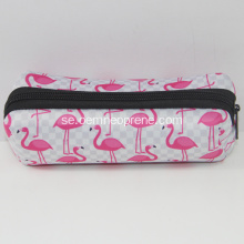 Snygga Flamingo Custom Neoprene Pencil Bags