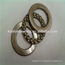 51101 51201 aço cromado aço inoxidável único rolamento de esferas axiais
