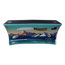 outdoor 6ft fabric spandex fitted stretch table cloth for events