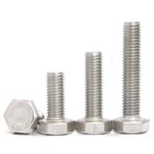 full thread partial thread unc unf zinc plated hex bolt