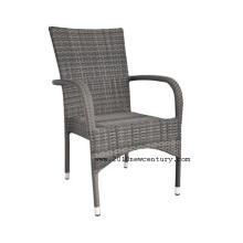 Chaise extérieure de chaise/jardin chaise/rotin 8002 (stakable)