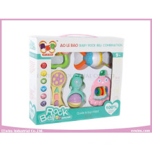 Baby Toys Combination Plastic Rings Rattles