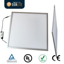 Luz de painel magro ultrafina 20W 80lm / W 8.8mm 300 * 300mm grossos SMD 5730 branco morno do diodo emissor de luz