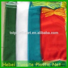 100% Новый HDPE моноволокна небольшой сетки net сумки для фруктов и овощей