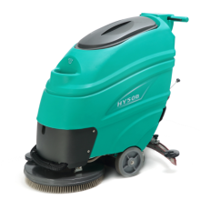 "Battery type 20"" walk behind scrubber dryer"