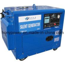 Générateur silencieux diesel refroidi par air 2-10kw meilleur prix!