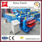 Tegel Arc staalplaten Roll vorming van Machine