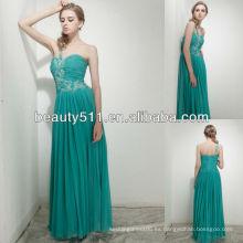 Astergarden nuevos vestidos de noche de seda verdaderos del bule del amor de los estilos SHE003