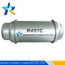 High purity R407C refrigerant gas 926L refillable cylinder
