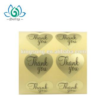 impresión de papel más barata gracias sello de adhesivo