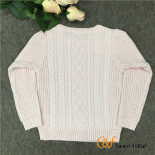 100% कपास नवीनतम किशोर बुना हुआ सर्दी स्वेटर