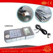 Verificador Ductile da espessura dos plásticos da cerâmica do ferro do ferro cinzento do polietileno Um6500