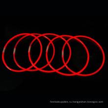 красная светящаяся палочка ожерелье