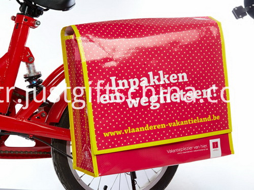 Printed Promotional Bicycle Bags W Long Polyester Adjustable Strap (5)