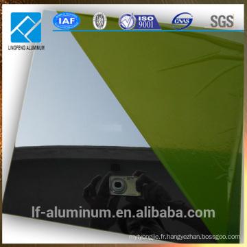 Feuille d'aluminium réfléchissante pour industrie légère