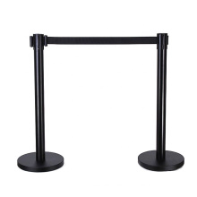 Stainless Steel Plastic Portable Retractable Crowd Control Barrier Pole Barrier Queue Stand, retractable barriers/