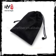 Facile à laver les sacs mini de cordon, sac non-tissé pour la chaussure, sac non-tissé de cadeau de cordon