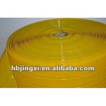 Rideau de porte souple en PVC jaune résistant aux insectes