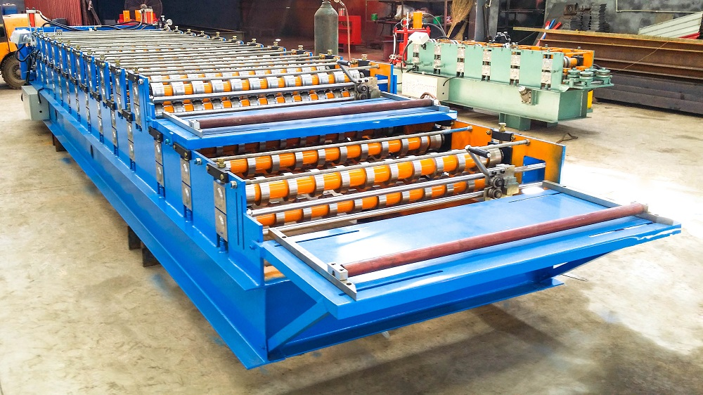 roller of the trapezoidal roll forming machine