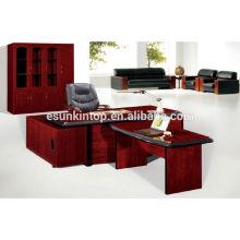 Muebles de oficina para la venta, Un escritorio principal, un escritorio lateral, un pequeño escritorio más (T2040)