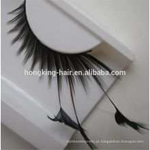 natural olhando cílios de cabelo humano de boa qualidade