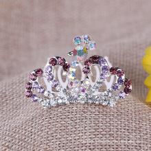 Peau de Tiara à rayures colorées Colorful Crown pour la fête