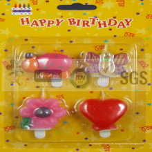 Varios modelo de velas de cumpleaños animadas