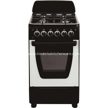 Professional 4 Burner Gas Cooker with Oven Series Gas Stove