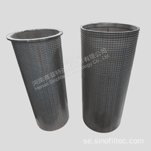 Sintered Mesh Filter Element With Performed Sheet
