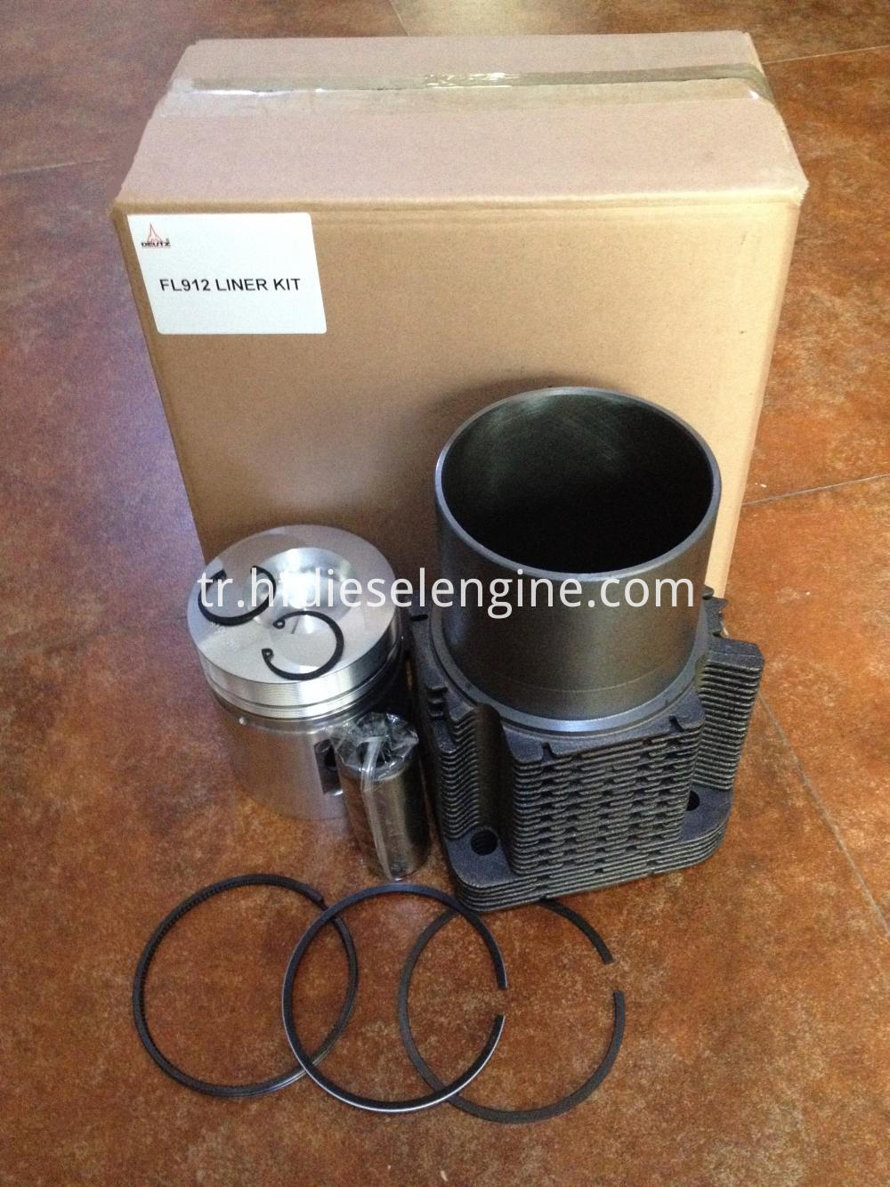 Cylinder liner piston kit packing