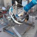 Bouilloire basculante industrielle à vapeur / électrique avec mélangeur / agitateur