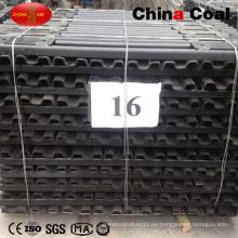 Durmiente de acero ferroviario estándar de alta calidad 251kg
