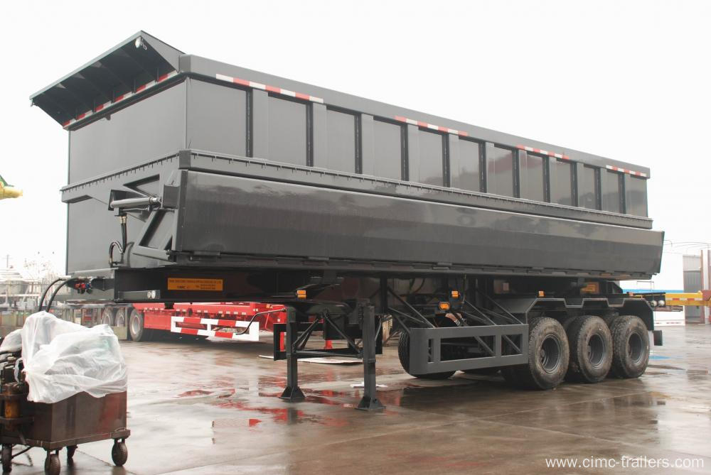 Tri-axle Side Dump Semi-Trailer