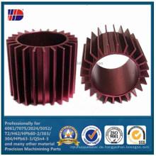 Motorrad-Gehäuse-Teil-Aluminium Druckguss-Kühlkörper