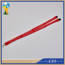 Custom Silk Screen Printing Logo Tube Promotion Polyester Lanyard From Factory