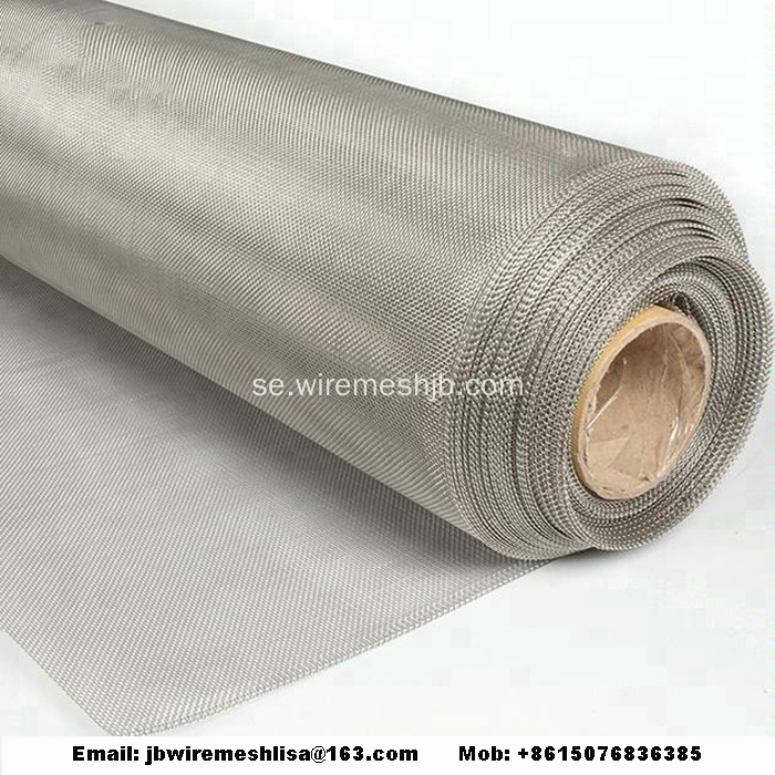 304/316 Plain Wave Stainless Steel Wire Mesh