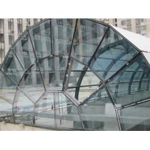Globale Hafen Stahlstruktur Glas Oberlichter Dach
